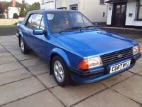 FORD ESCORT MK3 XR3i price;£ 5900 ono px/exch