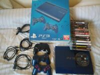 PlayStation 3, latest edition 500GB with many games