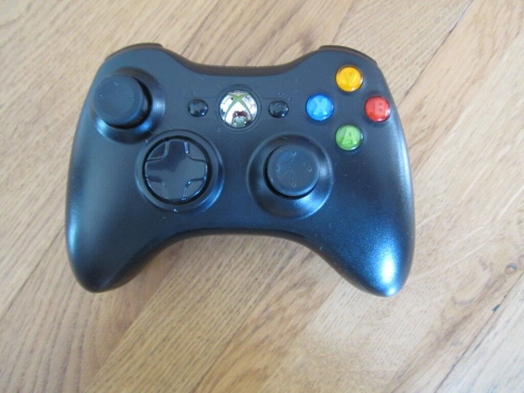 Microsoft Xbox 360 Wireless Controller Remote Black/White | in Yate ...