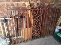Driveway Gates 143 x 100 cms (two)