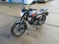 KEEWAY RK125 125CC COMMUTER LEARNER LEGAL LOW MILEAGE