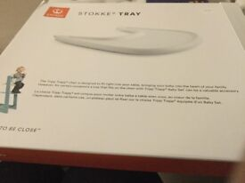 Tripp Trapp High chair tray - white - brand new