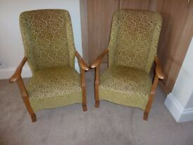Art Deco Companion Chairs