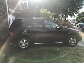 MERCEDES BENZ ML270CDI 7 SEATER LOW MILES