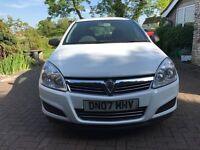 Vauxhall Astra van 2007 114k miles