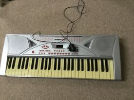 Child's electric keyboard
