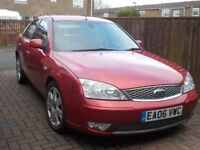 FORD MONDEO GHIA X 2006 2.0 TDCI FSH LONG MOT MANY NEW PARTS ONLY 99K MILES