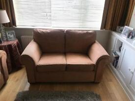 2 sofas- 1 2 seater and 1 3 seater- COLLECTION ONLY and BOTH SOFAS TOGETHER