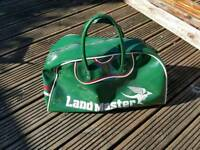 For sale is an unique and very rare Land Master bag.