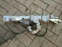 Renualt clio mark 3 5 door drivers window mechanism inc. motor