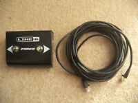 line6 / Line 6 FBV2 , 2-Way Foot Controller Amplifier Footswitch for POD / BASS POD , XT , XT Pro.