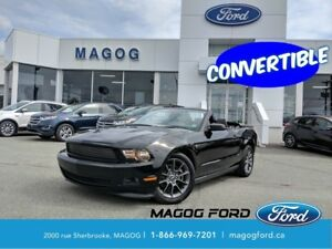 2012 Ford Mustang V6 Premium CONVERTIBLE IMPECCABLE, BAS KILOMET