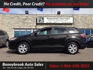 2011 Mazda CX-9 GS 7 Passenger awd w/leather low kms