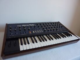Korg MonoPoly with midipoly midi in nice serviced condition