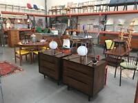 Loads of retro Mid Century Modern furniture for sale. Summer sale is on today 21.07 from 12-5pm