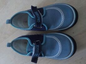 Boys Chatterbox Size 12 Canvas Shoes. £4 - Collect PE27 or can post for £3.20