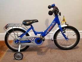 Puky ZL18 Boys bike - Lightweight aluminium frame, Blue, Good condition
