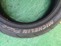 Michelin Pilot rear tire 18/67 - 17