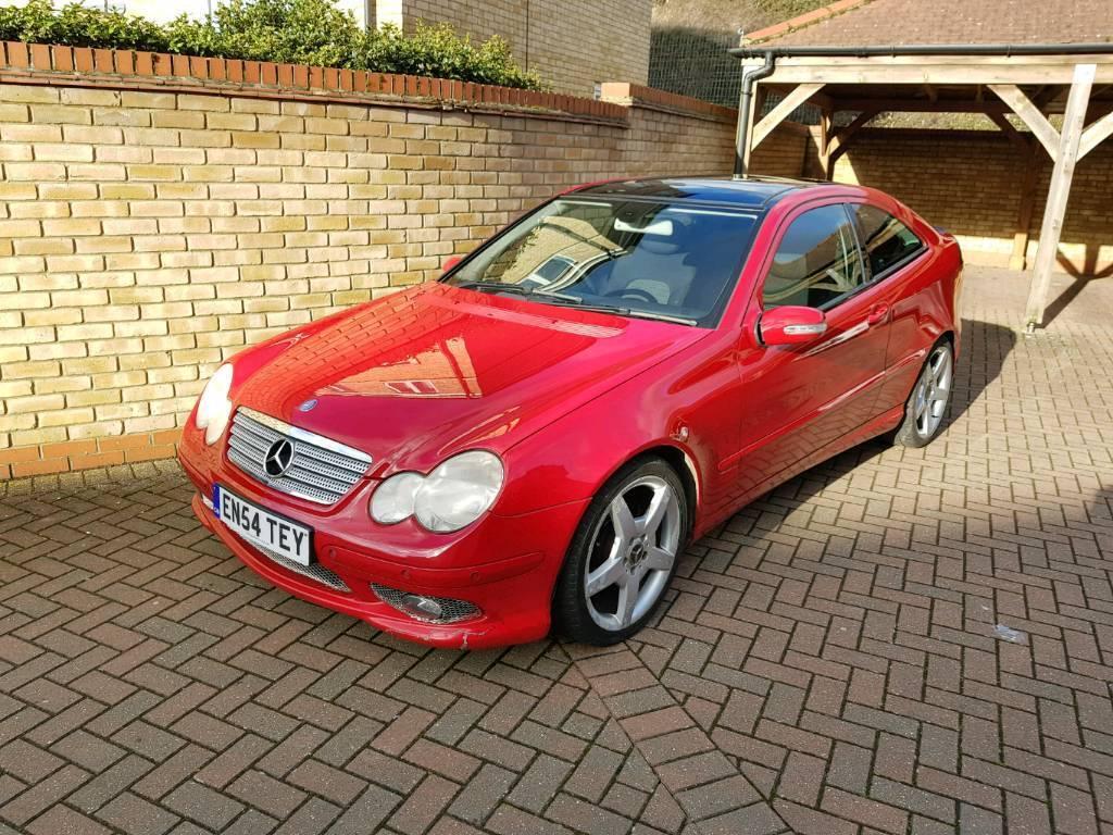 MERCEDES Benz C200 Kompressor Red 2005 | in Cambridge ...