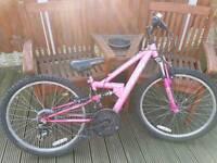 Girls bike 24inch wheels