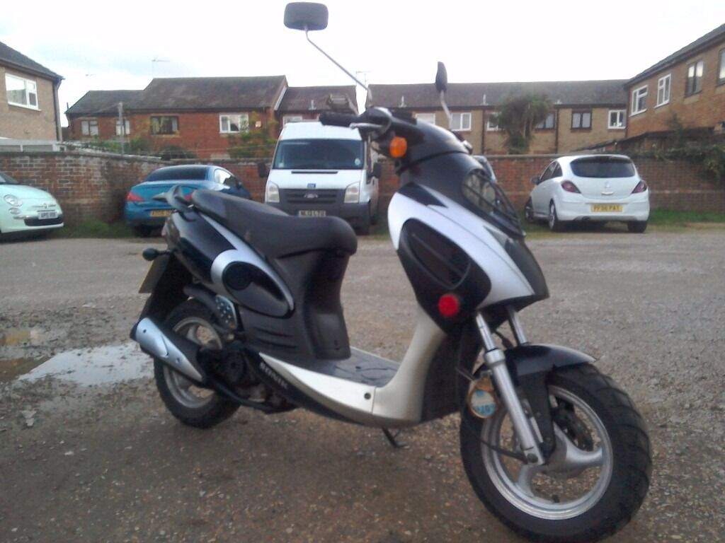 2013 50cc scooter