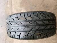 235/40/18 part worn tyre