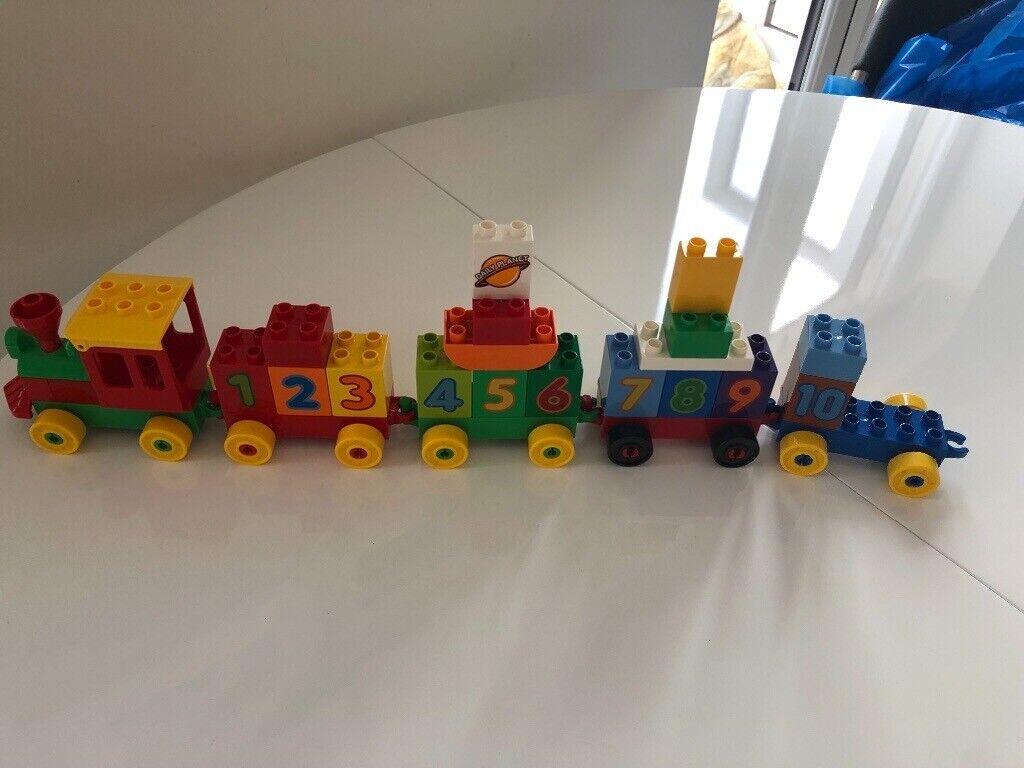 Lego Duplo Train Counting Blocks In Bearsden Glasgow Gumtree