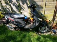 DirectBikes 50cc moped for spear and repair