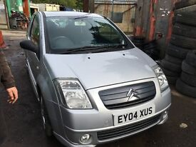 2004 CITROEN C2 FURIO SENSODRIVE (SEMI AUTO PETROL) for parts only