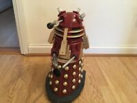 RARE Doctor Who 20 inch Remote Radio Controlled Supreme Dalek Flashing Light Talking RC Immaculate