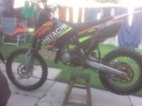 Ktm 85 big wheel.excellent condition.2013 model.brand new graphics,pistons and chain and sprockets