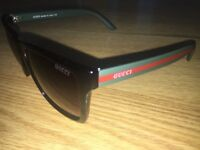 G QUALITY SUNGLASSES (GREEN/RED)