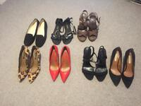 SHOES HARDLY USED ZARA & OTHER BRANDS