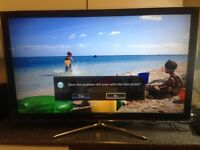 "Excellent 46""SAMSUNG INTERNET LED TV + freeveiw Iinbuild"