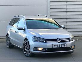 2012 62 REG Volkswagen Passat 2.0 TDI BlueMotion Tech Sport Estate 5dr DSG* diesel automatic a4 tdi