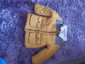 M&Sboys coat 9-12 months