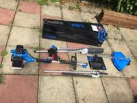 5 in 1 chainsaw, strimmer , trimmer , brush cutter& extension pole