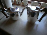 Vintage Picquot Tea & Matching Coffee Pot