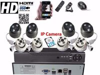 8CH Full 1080P HD NVR CCTV Security Camera System Home Video Outdoor 2TB