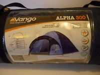 Vango 3-man Dome Tent - barely used