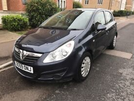 LOW MILEAGE,HPI CLEAR,2010VAUXHALL CORSA EXCLUSIVE 1.2 5DOOR PETROL,75000 MILES,FULL SERVICE HISTORY