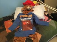 Kids Paddington bear dressing up outfit