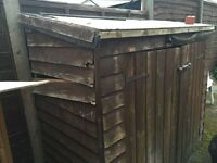 Large Wooden Garden Storage / Log Store