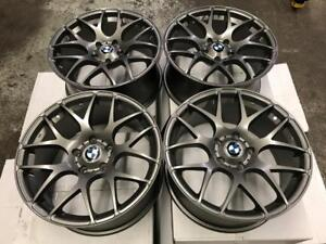 "18"" BMW VMR Style Gun Metal Wheels"