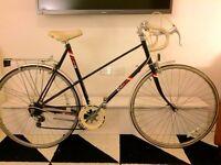 Raleigh vintage ladies racer racing bike