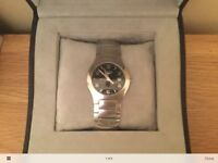 Longines oposition mens watch model L36174 boxed with paperwork