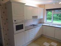 Whole complete kitchen cooker fridge dishwasher oven grill gas burner sink two fridges