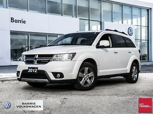 2012 Dodge Journey SXT & Crew w/ CONNECTIVITY!