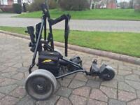 Golf Powakaddy battery powered caddy