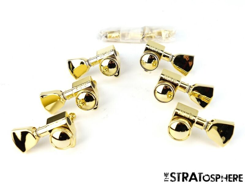 NEW Grover LOCKING TUNERS 3x3 for Gibson Les Paul Gold *Keystones! TK-7935-GKEY